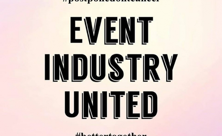 Let's save event industry together!
