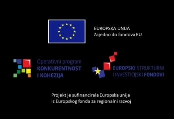 The project is co-financed by the European Union from the European Regional Development Fund